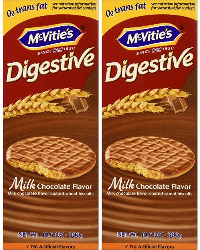 McVities Milk Chocolate Digestive Biscuits