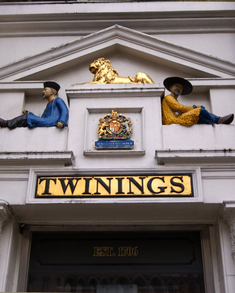Twinings tea shop in London