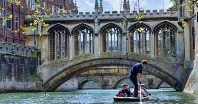 Cambridge — the ancient city of colleges and scholars